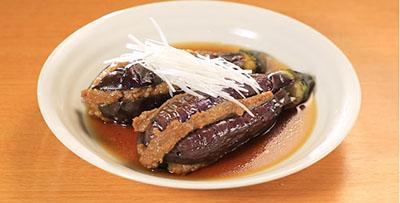 相葉マナブ なるほどレシピ 旬の産地ごはん 作り方 材料 ナス 冷やしナスの肉詰め