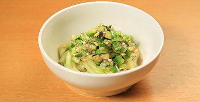 相葉マナブ なるほどレシピ 旬の産地ごはん 作り方 材料 ナス ぶっかけナス麺