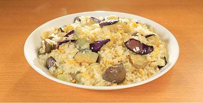 相葉マナブ なるほどレシピ 旬の産地ごはん 作り方 材料 ナス ナス炒飯