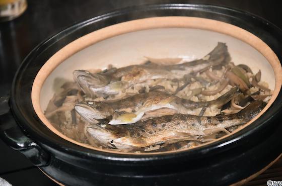青空レストラン レシピ 作り方 ヤマメ 茨城 炊き込みご飯