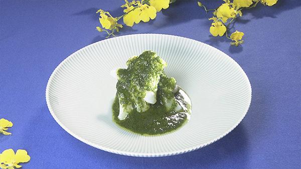 イカのジャオマーソース あさイチ 作り方 材料 レシピ ハレトケキッチン 香味野菜料理 イカのジャオマーソース