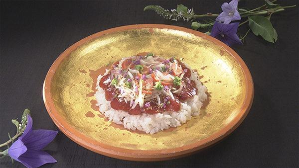 あさイチ 作り方 材料 レシピ ハレトケキッチン 香味野菜料理 カツオのばらすし
