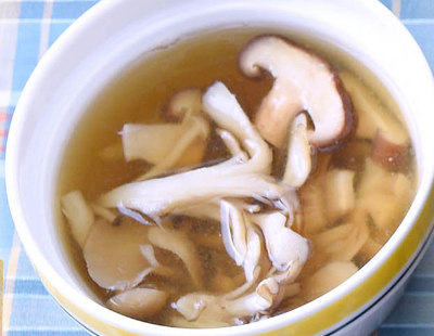 男子ごはん 鉄鍋シリーズ きのこの白こしょうスープ