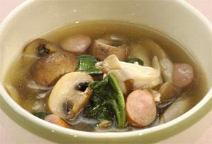 上沼恵美子のおしゃべりクッキング レシピ 作り方 きのこ きのこたっぷりスープ