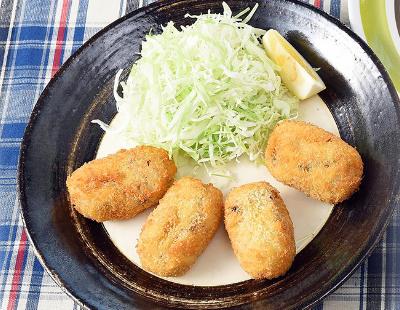 男子ごはん レシピ サバ缶アレンジ クリームコロッケ カレーうどん オープンサンド