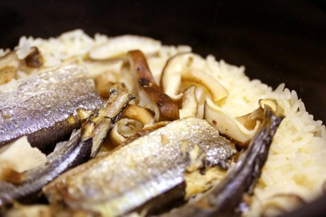 ヒルナンデス レシピ 作り方 炊き込みご飯 さんま