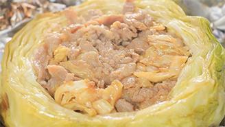 相葉マナブ キャンプレシピ 作り方 材料 キャベツ しょうが焼き