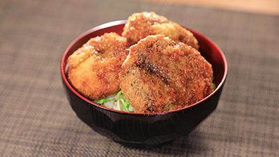 相葉マナブ レシピ 旬の産地ごはん 作り方 材料 しいたけのタレかつ丼