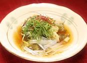 にじいろジーン 出張ふるさとクッキング ミシュランガイド 中華料理 長野 野沢温泉 白身魚 野沢菜