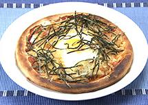 おーそれみーよ レシピ しらすと山芋の卵かけご飯風ピザ