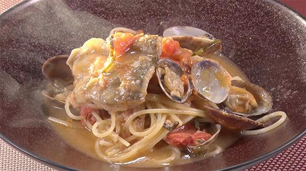 魔法のレストラン レシピ 作り方 材料  ミシュラン  魚介のトマトスープパスタ