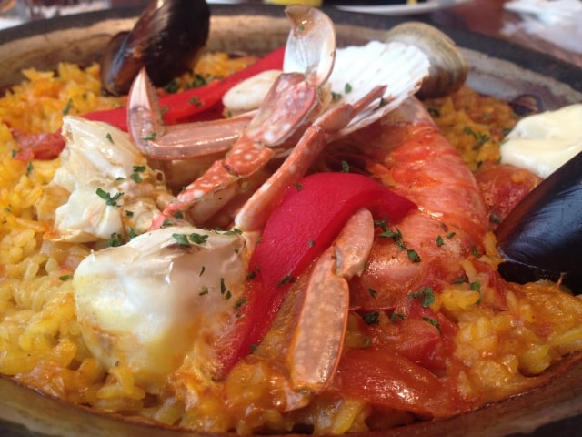 にじいろジーン 出張ふるさとクッキング スペイン王室御用達レストラン 静岡・旧相良町 パエリア スペイン料理