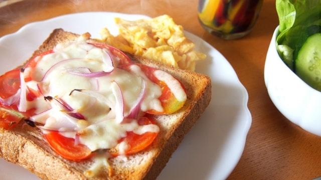 教えてもらう前と後 ピザトースト チーズトースト 食パン ちょい足しワザ
