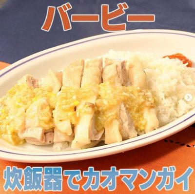 炊飯 器 カオマンガイ