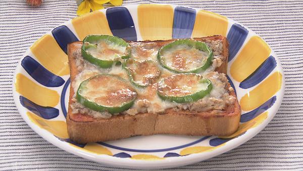 あさイチ 作り方 材料 レシピ さば缶ピザトースト