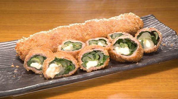 鉄腕DASH 鉄腕ダッシュ レシピ 小松菜 カツ