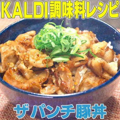 ザパンチ豚丼 家事ヤロウ レシピ カルディ 調味料