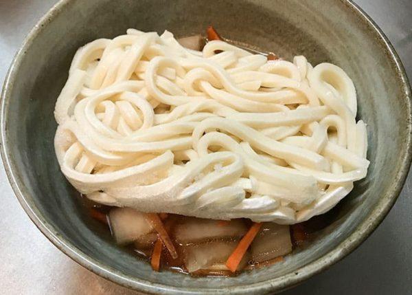 冷凍うどん アレンジレシピ 八宝菜うどん