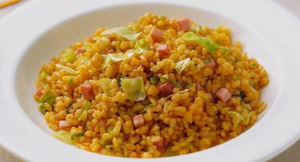 ホテルニューオータニ レシピ公開 玄米チャーハン