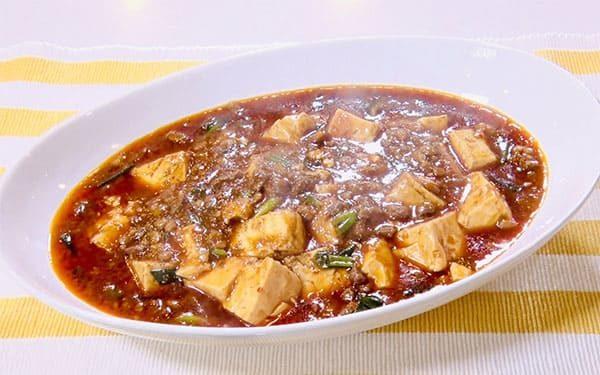 スッキリ レシピ ミシュラン 麻婆豆腐