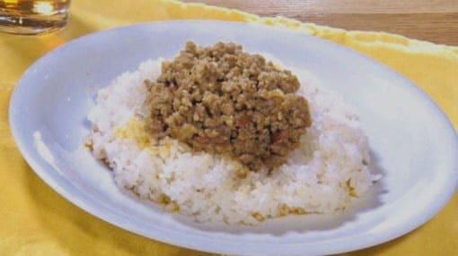 スッキリ レシピ ミシュラン キーマカレー