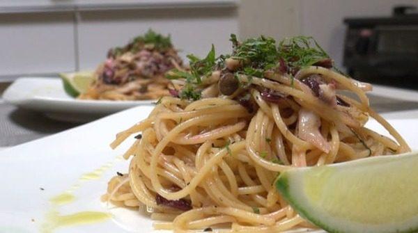 ZIP レシピ 巣ごもりレシピ ちびっこ料理人 サバ缶パスタ