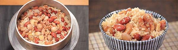 相葉マナブ 釜1グランプリ 釜飯 レシピ 作り方 材料 ミックスナッツ