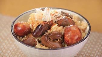 相葉マナブ 釜1グランプリ 釜飯 レシピ 作り方 材料 鳥もつ煮