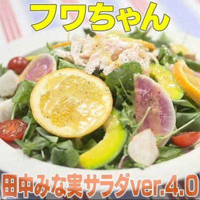家事ヤロウ リアル家事24時 フワちゃん 田中みな実サラダ ver.4.0