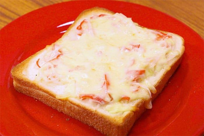 家事ヤロウ 秋のパン祭 カニクリームトースト