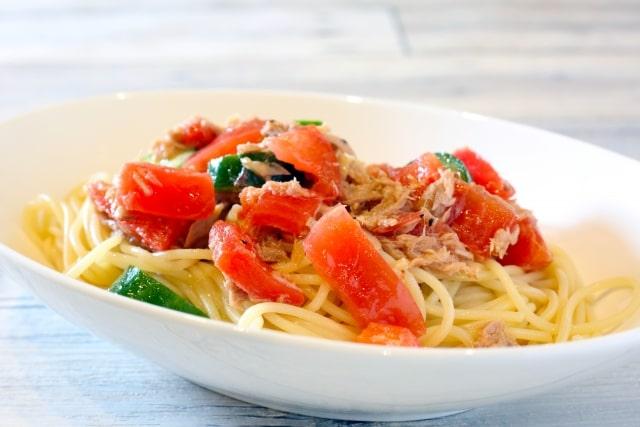 土曜はナニする 痩せるダシ ダイエット 作り方 レシピ 冷製パスタ