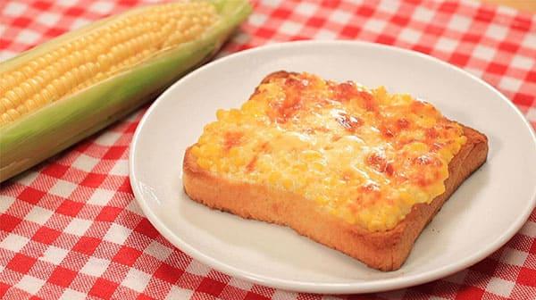 相葉マナブ レシピ 旬の産地ごはん 作り方 材料 とうもろこし トースト