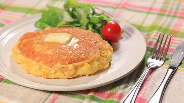 相葉マナブ レシピ 旬の産地ごはん 作り方 材料 とうもろこし パンケーキ
