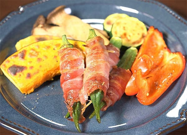 家事ヤロウ レシピ 魚焼きグリル 活用レシピ 焼き野菜
