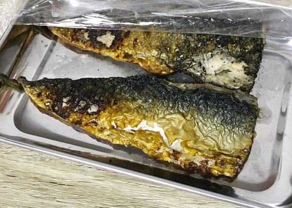 焼き魚 アジ