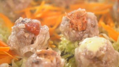 サタデープラス レシピ 作り方 ホットプレート神レシピ 蒸しシューマイ