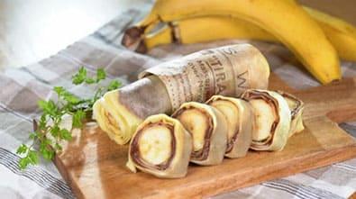 サタデープラス レシピ 作り方 ホットプレート神レシピ バナナクレープ