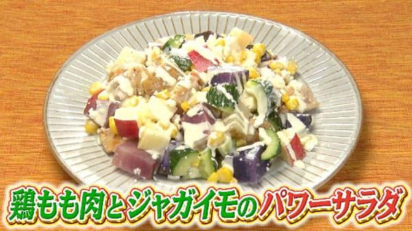 世界一受けたい授業 TEAMNACS 森崎 北海道 夏野菜 パワーサラダ じゃがいも