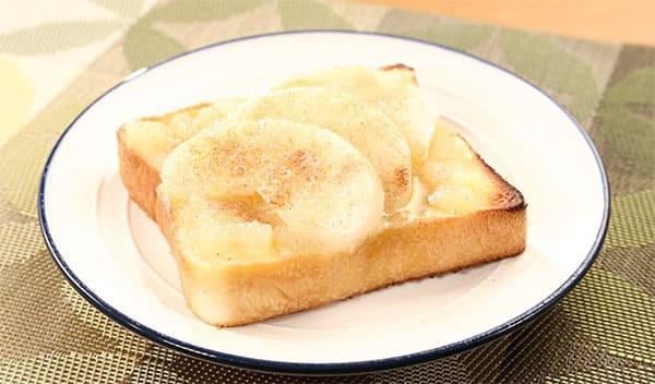 相葉マナブ 旬の産地ごはん 市川の梨 トースト