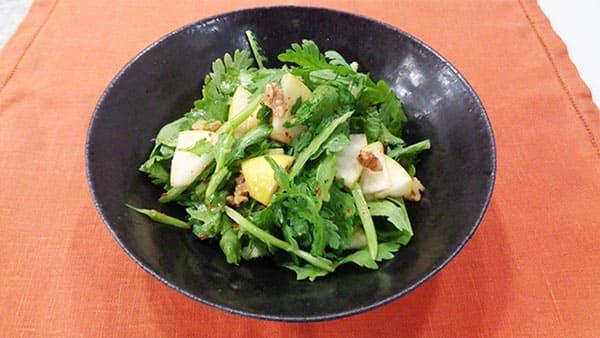 あさイチ みんな!ゴハンだよ 作り方 材料 レシピ 春菊のサラダ