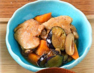 男子ごはん 秋の和定食 2020 豚ヒレと秋野菜のしょうが煮