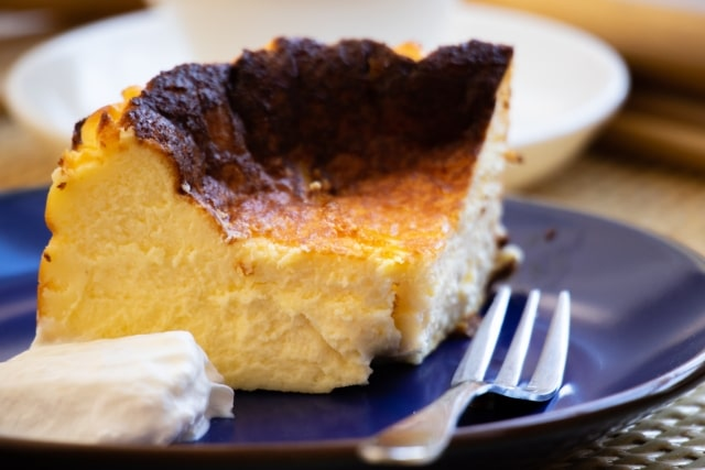 所さんお届けモノです レシピ ロバート馬場 バスクチーズケーキ 食パン