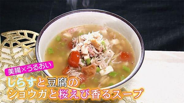 スッキリ レシピ アツシ Atsushi 美腸スープ 電子レンジ