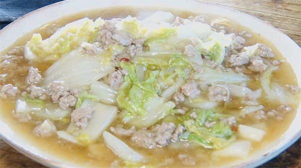 スッキリ レシピ ぐっち夫婦 白菜 おでん 鍋料理