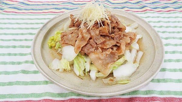 あさイチ みんな!ゴハンだよ 作り方 材料 レシピ 炒め白菜の豚しょうが焼きのっけ コウケンテツ