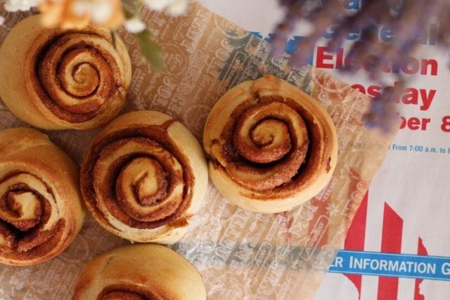 土曜はナニする レシピ 作り方 魔法のパン ゆーママ シナモンロール