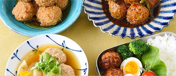 肉 団子 レシピ 鳥