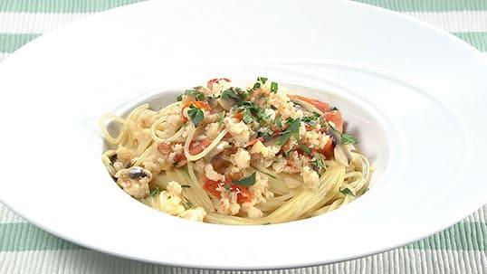 おーそれみーよ レシピ イタリアン 甲殻類のパスタ