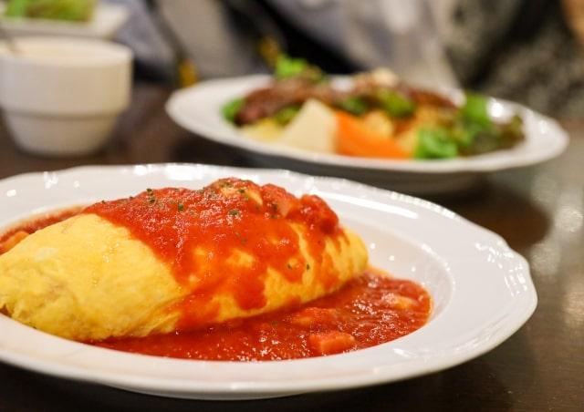 ヒルナンデス レシピ 作り方 有名料理人のおうちごはん プロのおうちごはん 落合シェフ オムライス 目玉焼き リゾット