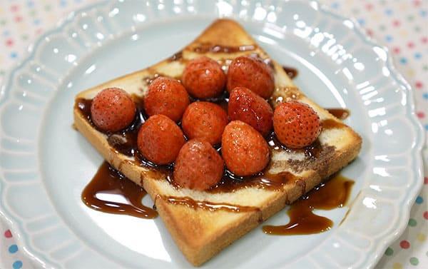 世界一受けたい授業 レシピ 作り方 材料 アレンジトースト いちご バルサミコ酢